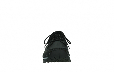 wolky lace up shoes 04726 fly winter 14000 black palmmetal suede_7