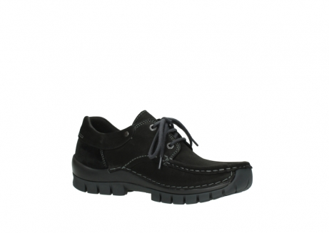 wolky veterschoenen 04726 fly winter 50000 zwart geolied nubuck_15