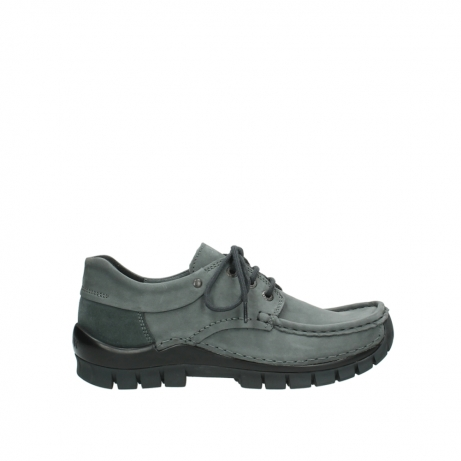 wolky veterschoenen 04726 fly winter 50200 grijs geolied nubuck