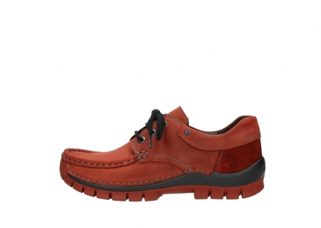 wolky lace up shoes 04726 fly winter 50540 winter red oiled leather_1