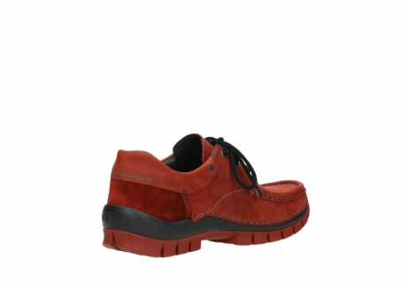 wolky lace up shoes 04726 fly winter 50540 winter red oiled leather_10
