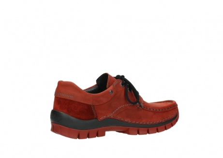 wolky lace up shoes 04726 fly winter 50540 winter red oiled leather_11