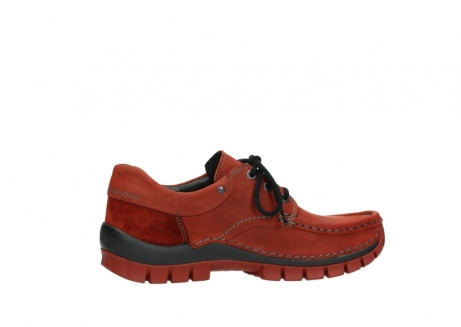wolky lace up shoes 04726 fly winter 50540 winter red oiled leather_12