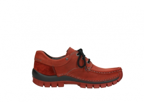 wolky lace up shoes 04726 fly winter 50540 winter red oiled leather_13