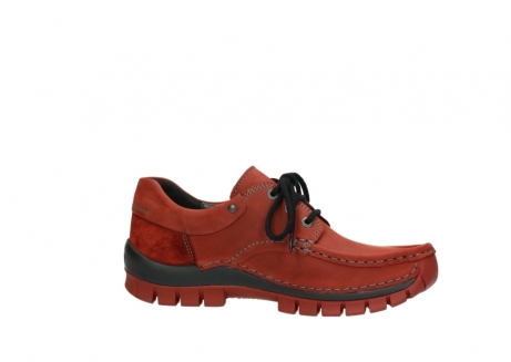 wolky lace up shoes 04726 fly winter 50540 winter red oiled leather_14