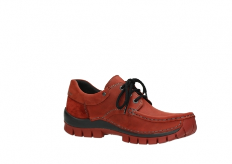 wolky lace up shoes 04726 fly winter 50540 winter red oiled leather_15