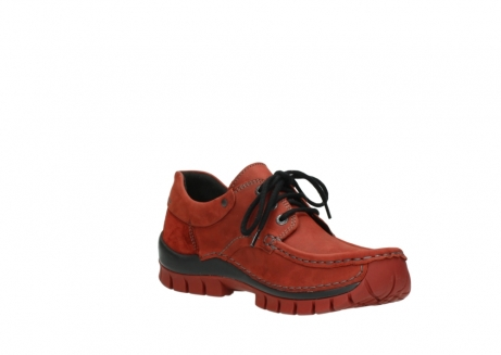 wolky lace up shoes 04726 fly winter 50540 winter red oiled leather_16