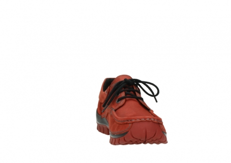 wolky lace up shoes 04726 fly winter 50540 winter red oiled leather_18