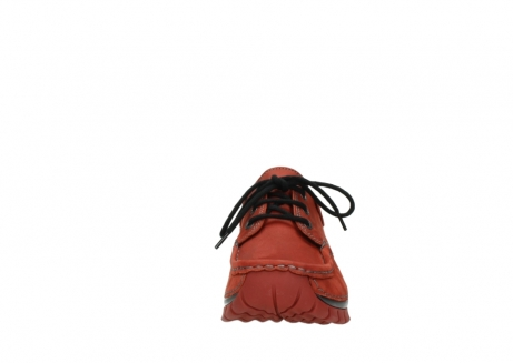 wolky lace up shoes 04726 fly winter 50540 winter red oiled leather_19