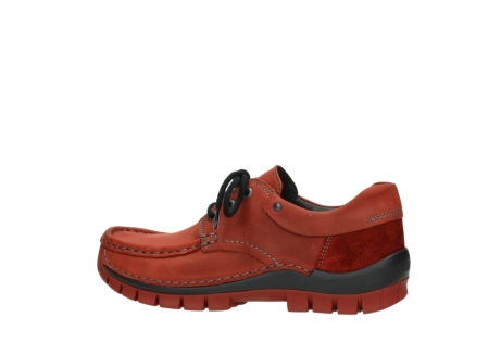 wolky lace up shoes 04726 fly winter 50540 winter red oiled leather_2