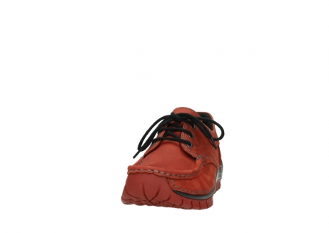 wolky lace up shoes 04726 fly winter 50540 winter red oiled leather_20