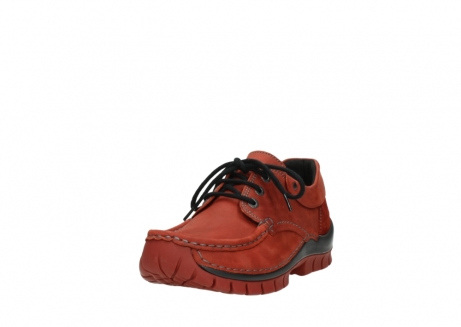 wolky lace up shoes 04726 fly winter 50540 winter red oiled leather_21