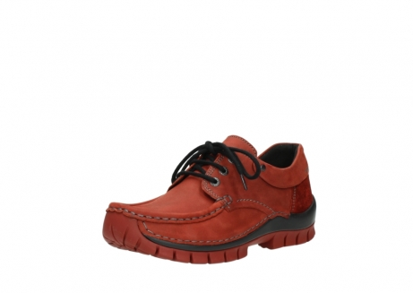 wolky lace up shoes 04726 fly winter 50540 winter red oiled leather_22