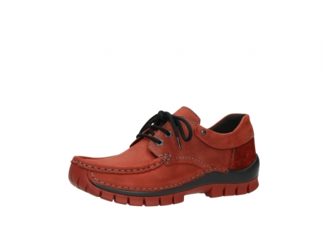 wolky lace up shoes 04726 fly winter 50540 winter red oiled leather_23