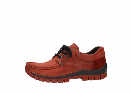 wolky lace up shoes 04726 fly winter 50540 winter red oiled leather_24