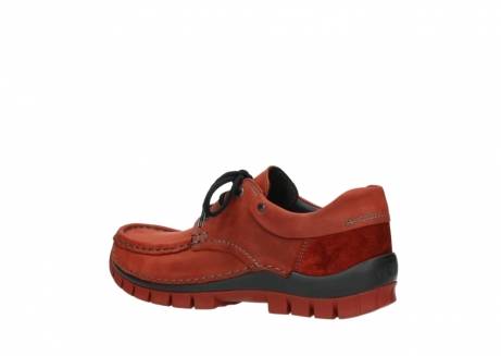 wolky lace up shoes 04726 fly winter 50540 winter red oiled leather_3