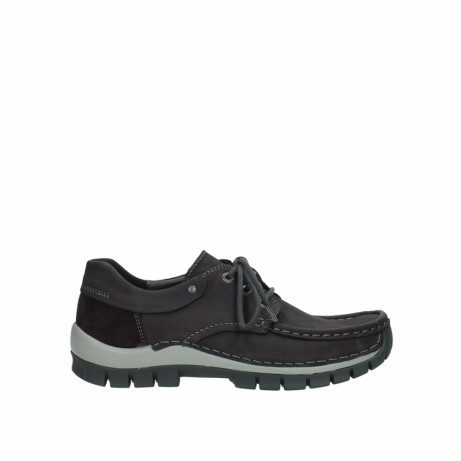 wolky chaussures a lacets 04726 fly winter 50600 cuir violet gris