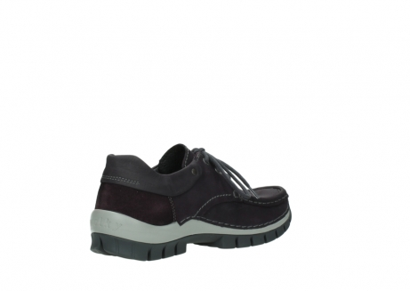 wolky chaussures a lacets 04726 fly winter 50600 cuir violet gris_10