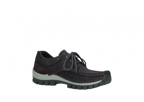 wolky chaussures a lacets 04726 fly winter 50600 cuir violet gris_15