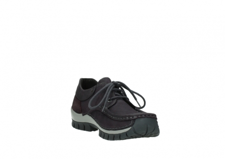 wolky chaussures a lacets 04726 fly winter 50600 cuir violet gris_17