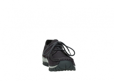 wolky chaussures a lacets 04726 fly winter 50600 cuir violet gris_18