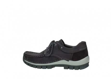 wolky chaussures a lacets 04726 fly winter 50600 cuir violet gris_2