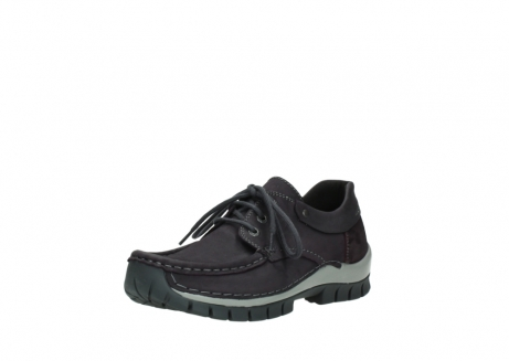 wolky chaussures a lacets 04726 fly winter 50600 cuir violet gris_22