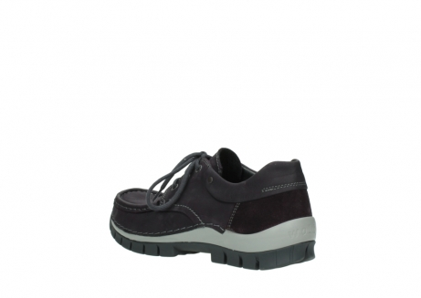 wolky chaussures a lacets 04726 fly winter 50600 cuir violet gris_4
