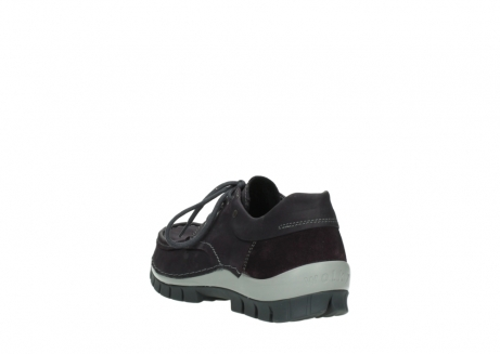 wolky chaussures a lacets 04726 fly winter 50600 cuir violet gris_5