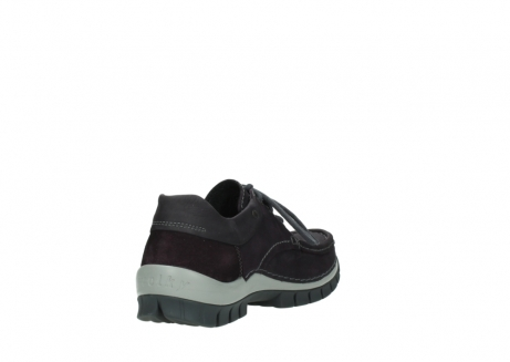 wolky chaussures a lacets 04726 fly winter 50600 cuir violet gris_9