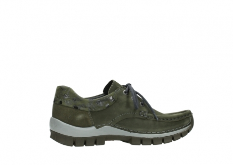 wolky chaussures a lacets 04726 fly winter 50730 cuir vert_12