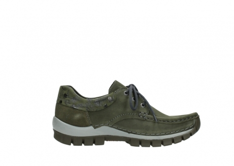 wolky chaussures a lacets 04726 fly winter 50730 cuir vert_13