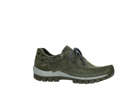 wolky chaussures a lacets 04726 fly winter 50730 cuir vert_14