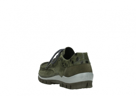 wolky chaussures a lacets 04726 fly winter 50730 cuir vert_5