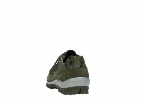 wolky chaussures a lacets 04726 fly winter 50730 cuir vert_6