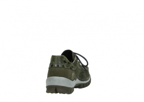 wolky chaussures a lacets 04726 fly winter 50730 cuir vert_8