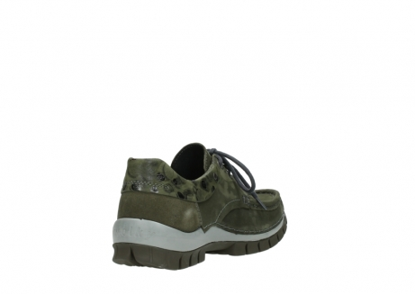 wolky chaussures a lacets 04726 fly winter 50730 cuir vert_9