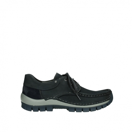 wolky chaussures a lacets 04726 fly winter 50810 nubuck gris bleu