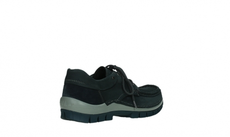 wolky chaussures a lacets 04726 fly winter 50810 nubuck gris bleu_22
