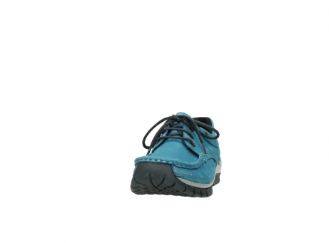 wolky lace up shoes 04726 fly winter 50880 petrol blue oiled leather_20