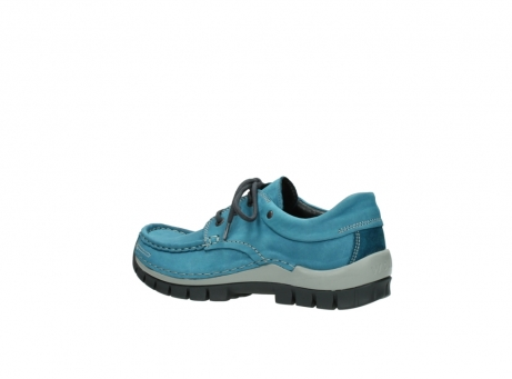 wolky lace up shoes 04726 fly winter 50880 petrol blue oiled leather_3