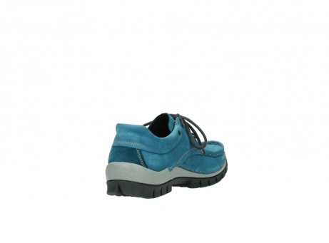 wolky lace up shoes 04726 fly winter 50880 petrol blue oiled leather_9