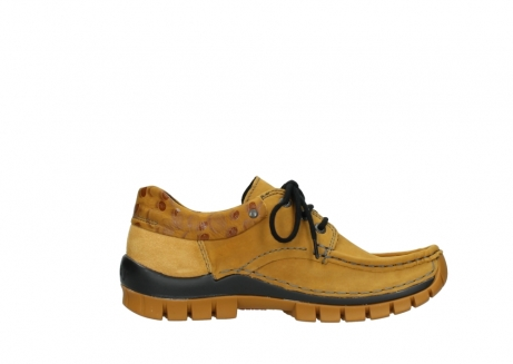 wolky chaussures a lacets 04726 fly winter 59930 cuir jaune curry_13
