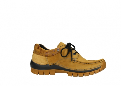 wolky chaussures a lacets 04726 fly winter 59930 cuir jaune curry_14