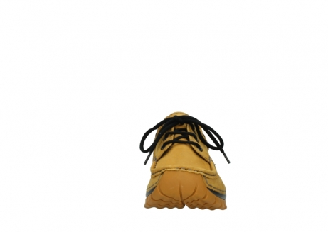 wolky chaussures a lacets 04726 fly winter 59930 cuir jaune curry_19