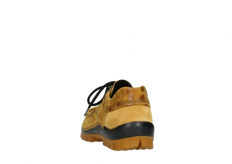 wolky chaussures a lacets 04726 fly winter 59930 cuir jaune curry_6