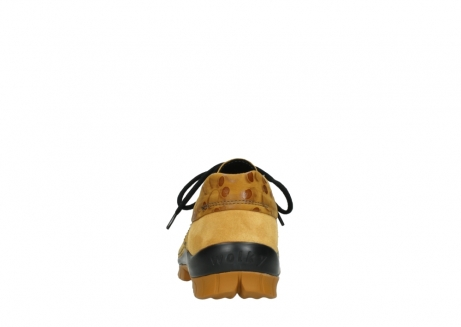 wolky chaussures a lacets 04726 fly winter 59930 cuir jaune curry_7