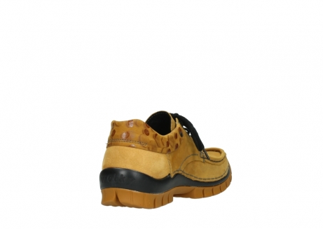 wolky chaussures a lacets 04726 fly winter 59930 cuir jaune curry_9