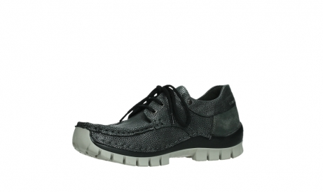 wolky chaussures a lacets 04726 fly winter 81280 cuir gris meacutetal_11