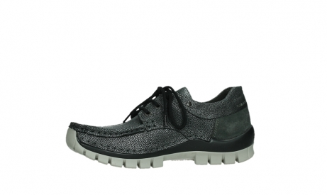 wolky chaussures a lacets 04726 fly winter 81280 cuir gris meacutetal_12